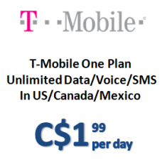 T-Mobile One Plan (Daily)