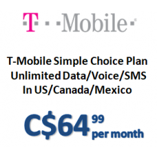 T-Mobile One Plan (Monthly)