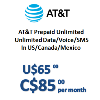 AT&T Prepaid Unlimited (Monthly)